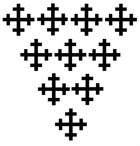 cross crosslets (10)
