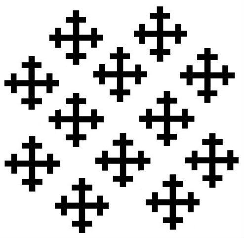 cross crosslets (12)