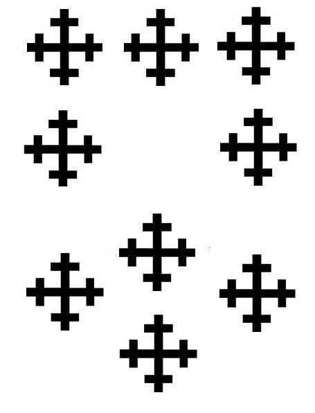 cross crosslets (9)