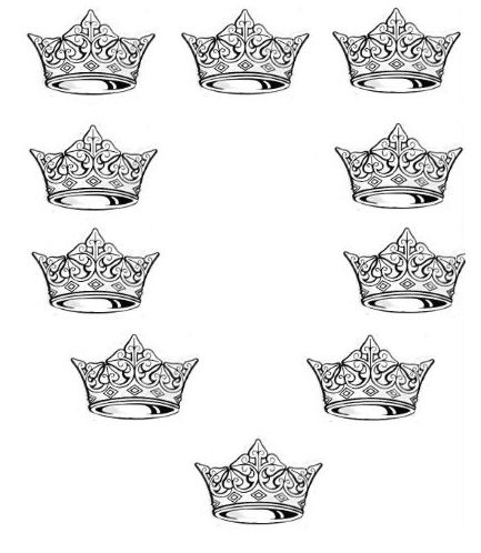crowns, ancient 10