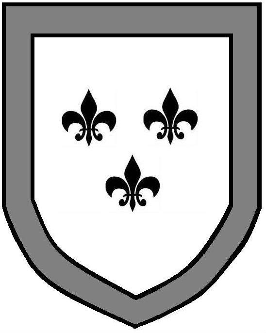 fleurs-de-lys (3) within