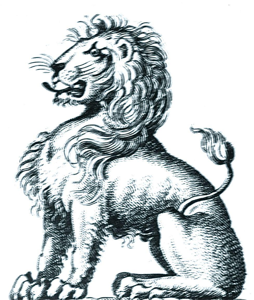 lion sejant