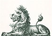 lion couchant