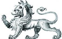 lion passant