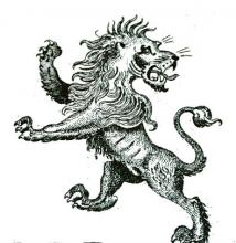 lion rampant regardant