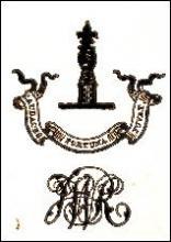 Ramsden, John William, Sir, 5th Baronet, of Byram (1831 - 1914) (Stamp 1)