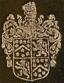 Berkeley, Henry, Sir, 1st Baronet, of Wymondham (1566) (Stamp 1)