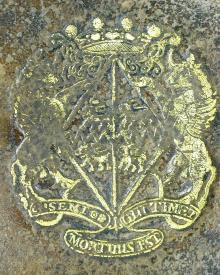 Cromwell, Elizabeth, Baroness Cromwell (1674 - 1709) (Stamp 1)