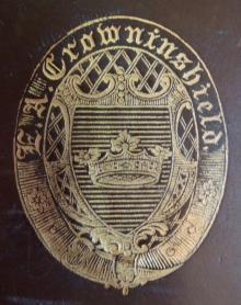 Crowninshield, Edward Augustus (1817-1859)  (Stamp 1)