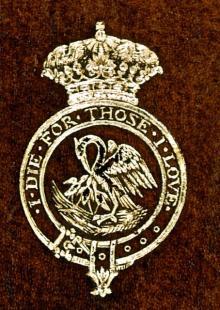 De Stacpoole, George Marie Stanislaus Koska, 3rd Duke De Stacpoole (1829 - 1896) (Stamp 1)