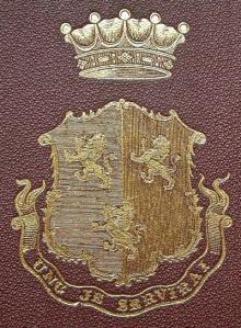 Herbert, Henry Howard Molyneux, 4th Earl of Carnarvon  (1831 - 1890) (Stamp 2)