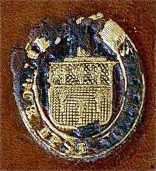 King-Noel, William, 1st Earl of Lovelace (1805 - 1893) (Stamp 1)