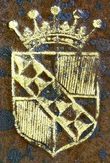 Sackville, Charles, 6th Earl of Dorset  (1638 - 1706) (Stamp 2)