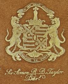 Taylor, Simon Richard Brissett, Sir, 2nd Baronet, of Lysson Hall, Jamaica (1783 - 1815) (Stamp 1)