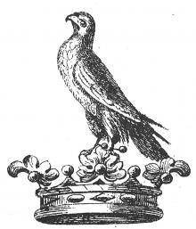 coronet, ducal, on a