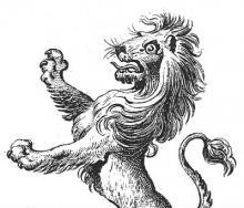 lion, demi-