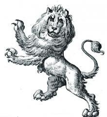 lion rampant gardant