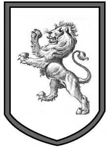 lion rampant within