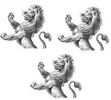 lions, demi- (3)
