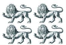 lions passant gardant (4)