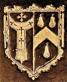 Abbot, George, Archbishop of Canterbury (1562 - 1633) (Stamp 3)