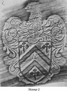 Abdy, Robert, Sir, 1st Baronet, of Albyns (1st creation) (1615 - 1670) (Stamp 1)