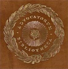 Advocates Library, Edinburgh (Stamp 1)