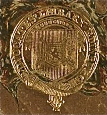 Advocates Library, Edinburgh (Stamp 4)
