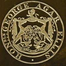 Agar-Ellis, George James Welbore, Baron Dover (1797 - 1833) (Stamp 1)