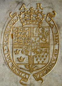 Anne of Denmark (1574 - 1619) (Stamp 1)