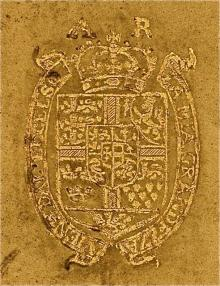 Anne of Denmark (1574 - 1619) (Stamp 2)