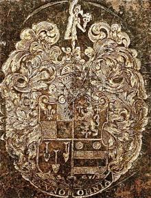 Ashmole, Elias (1617 - 1692) (Stamp 3)