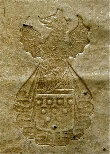 Babington, Gervase, Bishop of Worcester  (1550 - 1610) (Stamp 2)