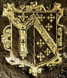 Bancroft, Richard, Archbishop of Canterbury (1544 - 1610) (Stamp 2)