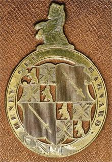 Barnard, Henry Gee Boldero (1789 - 1858) (Stamp 1)