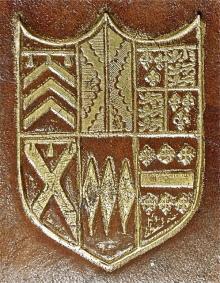 Barrington, Thomas, Sir, 2nd Baronet, of Barrington Hall (Stamp 1)