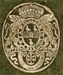 Bateman, William, 1st Viscount Bateman  (Stamp 1)
