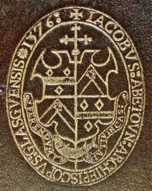 Beaton, James, Archbishop of Glasgow (1517 - 1603) (Stamp 1)