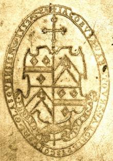 Beaton, James, Archbishop of Glasgow (1517 - 1603) (Stamp 3)