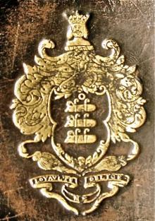 Bertie, Albemarle, 9th Earl of Lindsey (1744 - 1818) (Stamp 1)