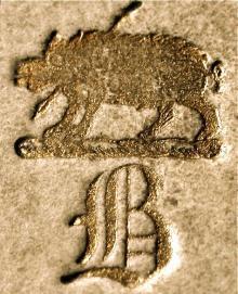 Brydges, George M. (Stamp 1)