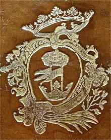 Calvert, Frederick, 6th Baron Baltimore (1731 - 1771) (Stamp 1)