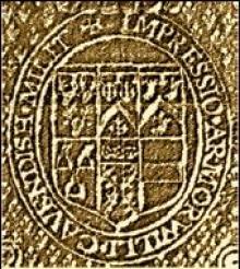 Cavendish, William, 2nd Earl of Devonshire (1590 - 1628) (Stamp 1)