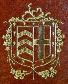 Clare College Cambridge  (Stamp 1)