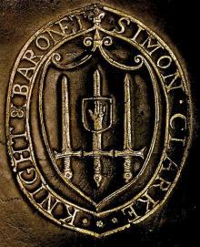 Clarke, Simon, Sir, 1st Baronet (Stamp 2)