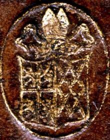 Cosin, John, Bishop of Durham (1595 - 1672) (Stamp 2)