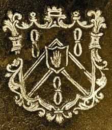 Cotton, Robert Salusbury, Sir, 3rd Baronet (1695 - 1748) (Stamp 1)