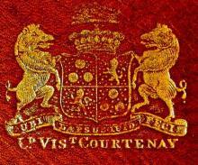 Courtenay, William, 2nd Viscount Courtenay (1742 - 1788) (Stamp 1)