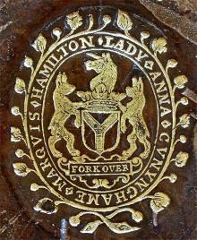 Cunningham, Anna Cunningham, Marchioness of Hamilton  (Stamp 1)