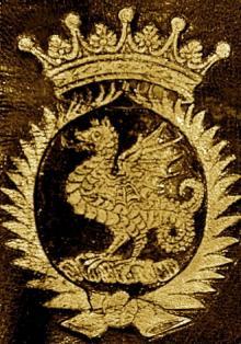 D'Anvers, Henry, Earl of Danby (1573 - 1644) (Stamp 2)